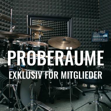 Schlagzeugproberäume in Wien
