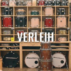 Schlagzeugverleih bei Beatboxx