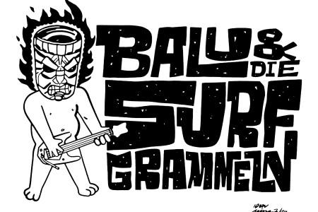 Ein bissel raunziger: Balu & Die Surfgrammeln