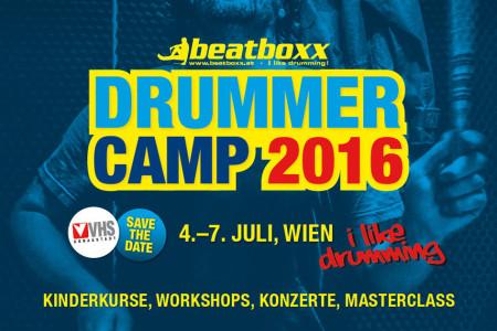 Drummer Camp Wien 2016