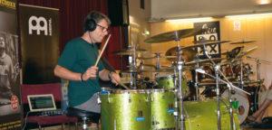 Konzert auf dem Drummer Camp in Wien