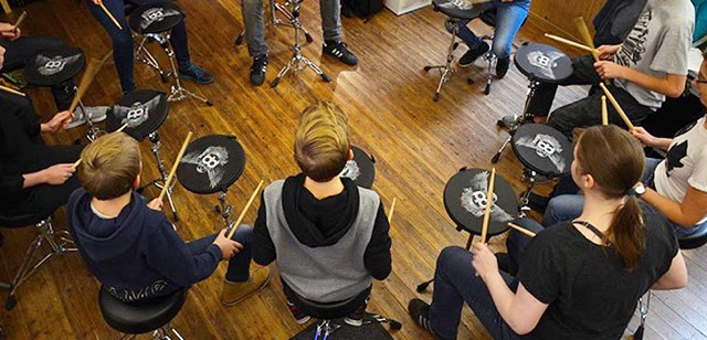 Technik, beatboxx, schlagzeug, drums, workout, pads, ueben, workshop, kurs