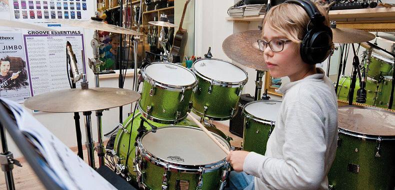 Kinderprogramm Schlagzeug
