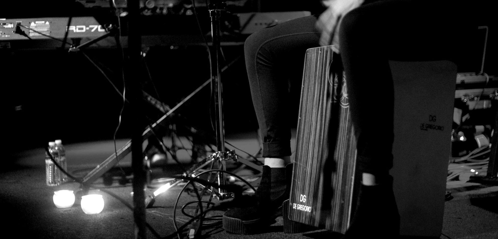 Cajon_Stage-blackwhite