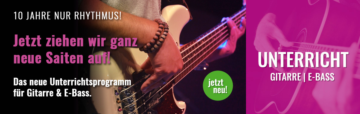 Gitarre E-Bass Unterricht in Wien